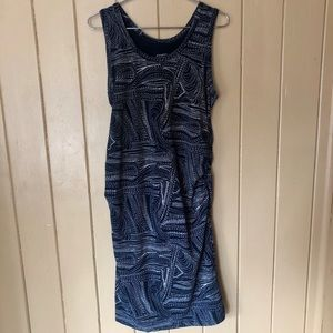 Liz Lange Navy Maternity Dress